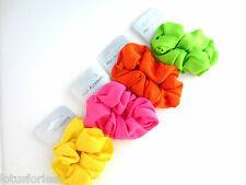 Neon Fabric Scrunchies Hair elastic *NEW* Colour Choice Hen Parties