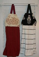 Lambs Sheep Knitting Yarn Farm Hanging Kitchen Hand Oven Cabinet Dishtowel HCF&D