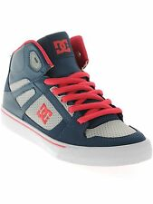 DC Insignia Blue Spartan High Kids Hi Top Shoe