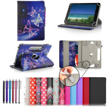 "360° Universal 7"" Inch PU Leather Wallet Case Cover Stand For Android Tablets"