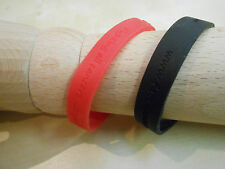 FACT Fighting All Cancers Together Charity Wristband Rubber Silicone Red Black