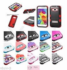 TUFF Hybrid ShockProof Protective Case Cover For Samsung GALAXY PREVAIL LTE G360