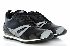 Mens Shoes BALENCIAGA Runner Sneakers 341757 W0V51 10002 Black Patent Leather
