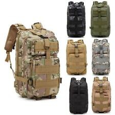 Outdoor Army Military Rucksacks Tactical Molle Backpack Bag Camping Cloth New