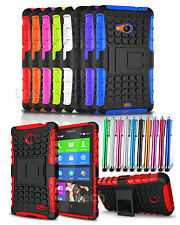 Shockproof Tough Armour Case Cover with Stand for Various Mobile Phone & Stylus