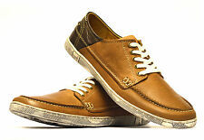 Mens Full Leather Casual Boat Deck Mocassin Designer Loafers Driving Shoes Size