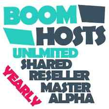 UNLIMITED YEARLY Web Hosting-Latest cPanel-Many Extras-EU Location-99.95% Uptime