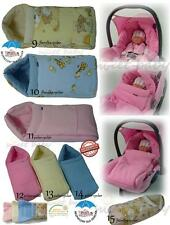 Baby Soft Padded Footmuff Cosy Warm Toes Fit for Car Seat Pram Stroller Fleece