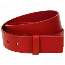 NEW Men's Adidas leather Belt Straps 3 colors ,, RED,,CHROME GREY,,OASIS BLUE