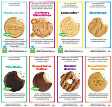 2015 Fresh New Boxes of Girl Scout Cookies, 8 flavors to choose from
