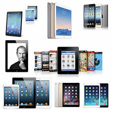 iPad Air, Mini, 2, 3rd, 4th Generation Tablet|WiFi +AT&T,Sprint,T-Mobile,Verizon