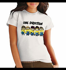 T-shirt girl cattivissimo me one direction tshirt despicable me face love funny
