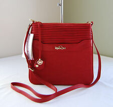 Kipling HB6596 Always On Channel Quilt Tango Red Thora Cross body