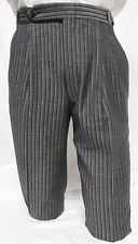 Boys/Youth Size Vintage Gray Hickory Stripe Morning Trousers Pants Victorian