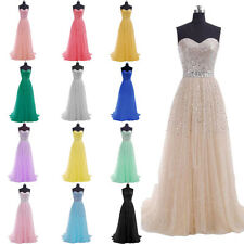 Long Sequins Strapless Evening Prom Formal Dress Bridesmaid Prom Gown Plus Size