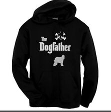 The Dogfather Afghan HoundHoody Black Hoodie sizes Kids to XXL