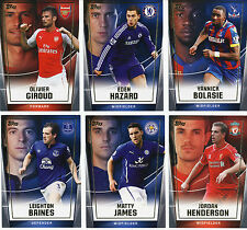 TOPPS PREMIER CLUB 2014 FOOTBALL CARDS 1 - 60 BRAND NEW STRAIGHT FROM PACKS
