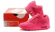 Nike Air MAX 90  Red pink women running  shoes sales