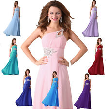 STOCK~ Cocktail Evening Long Formal Gowns Party Prom Bridesmaid Dresses Wedding