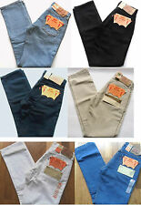 LEVI's 501 Jeans Girls Red Tab Button Fly 6501 Various Colours & Sizes