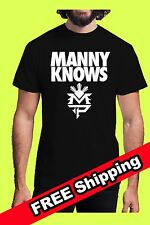 Manny Pacquiao Training T-Shirt Pacman Manny Knows Floyd Mayweather May 2 Boxing