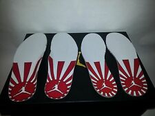 """Jordan 12 Rising Sun """" Banned """" Insoles Size 3.5 Youth to 13 Men"""