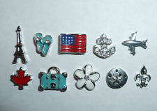 Authentic Origami Owl Travel Charms **You Pick Your Charm(s)**