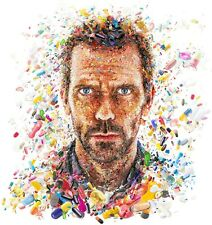 House MD Colour Pills TV Show Fabric poster 13