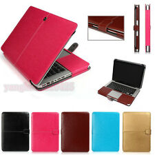 PU Leather Laptop Sleeve Bag Case Cover for MacBook Air 11 13 Pro 13 15 Retina