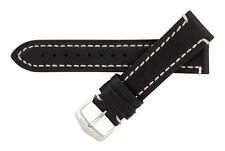Hirsch LIBERTY Thick Genuine Artisan Leather Watch Band Strap 22mm 1090 02
