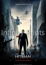 Hitman Agent 47 Movie Film Poster A2 A3 A4