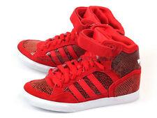 Adidas Originals Extaball UP W Wedges Fashion Casual Sneakers Red/White M19448