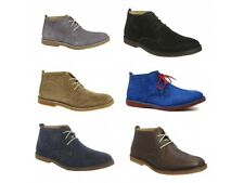 Hush Puppies DESERT II Mens Casual Suede Leather Water Resistant Desert Boots