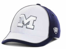 TOP OF THE WORLD NCAA SQUALL FLEX FIT HAT/CAP- MICHIGAN WOLVERINES - L/XL & OSFM