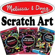 Melissa and Doug Scratch Art Childrens Craft Kits - NEW - Choose from List