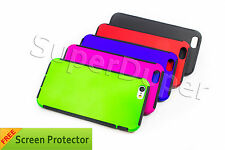 """Full Color Hybrid Slim PC TPU Trim Protection Snap Case For Apple iPhone 6 4.7"""""""