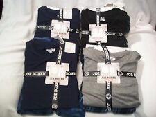 Joe Boxer Men's Pajama Slubbed Shirt & Fleece Pants SIZE SMALL, MEDIUM, & LARGE