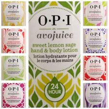 OPI AVOJUICE SKIN QUENCHERS LOTION~Pick Size & Scent 1, 8.5, or 20 oz, 9 flavors