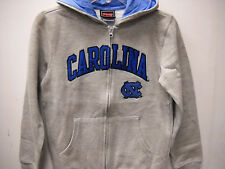 "North Carolina Tar Heels Boy's Full Zip ""Classic"" Hoodie - Gray"