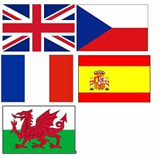 FLAGS OF THE WORLD EUROPE EUROPEAN JUMBO FRIDGE MAGNET 9x6CM BIGGEST ON EBAY NEW