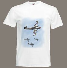 Hawker Hurricane t-shirt Fighter Aircraft WW2 size Small TO XXXL