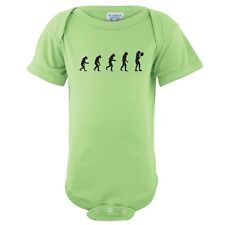Evolution of Woman To Tennis Player Baby Girl One Piece Infant Creeper FREE S&H