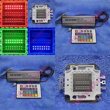 10W 20W 30W 50W RGB Red Green Blue Full Color High Power LED Light + AC Supply