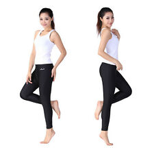 Black Unisex Swimming Scuba Diving and Snorkeling Long Pants Beachwear