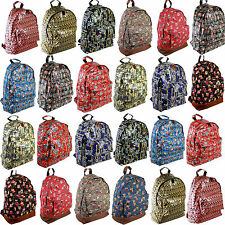 Backpack Rucksack Ladies Girls Gym School College Campus Travel Bag