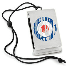 MOD Phone Pouch. Mobile Holder with belt loop Music Fashion Scooters 1960s TS920