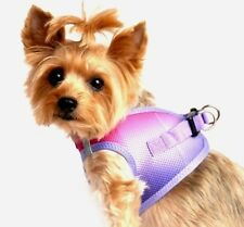 Dog Harness Step In Choke Free Mesh Vest Raspberry Sundae Ombre by Doggie Design