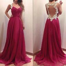 Sexy Women Evening Party Ball Prom Gown Formal Bridesmaids Cocktail Long Dress