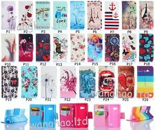 Pretty Flip Hybrid Lovely Pattern Stand PU Leather Case Cover For Nokia Huawei