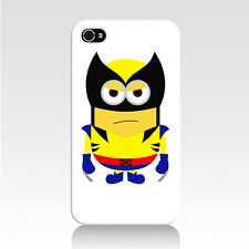 Despicable Me Minion Wolverine iPhone 4 4S 5 5S 5C Case X-Men Marvel Universe